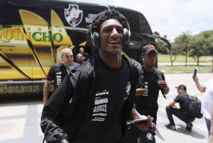 Em busca do primeiro gol em 2020, Talles Magno fará o primeiro jogo internacional pelo Vasco