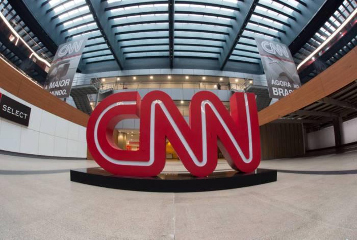 CNN divulga foto da fachada da emissora