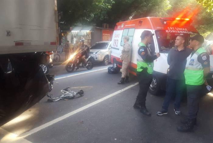 Atropelamento em Ipanema, Zona Sul do Rio