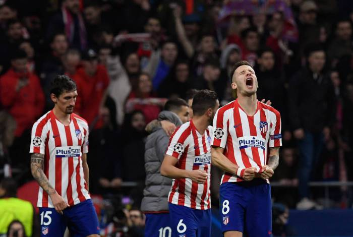 Autor do gol do Atlético, Saúl solta o grito: vitória sobre o Liverpool