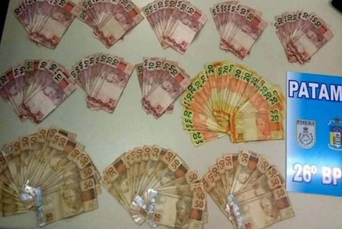 Policiais já deram início à investigação que pode revelar a procedência do dinheiro