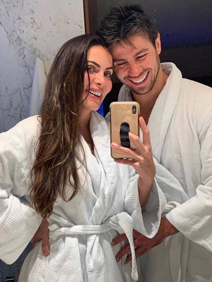 Carla Prata e Mariano