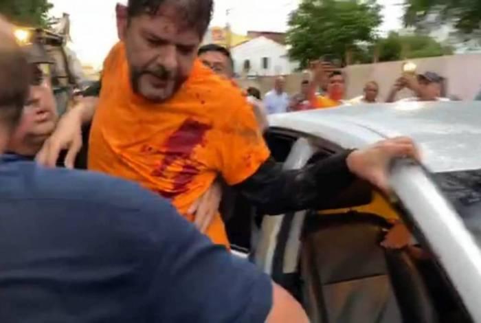 Senador Cid Gomes (PDT) foi baleado em Sobral
