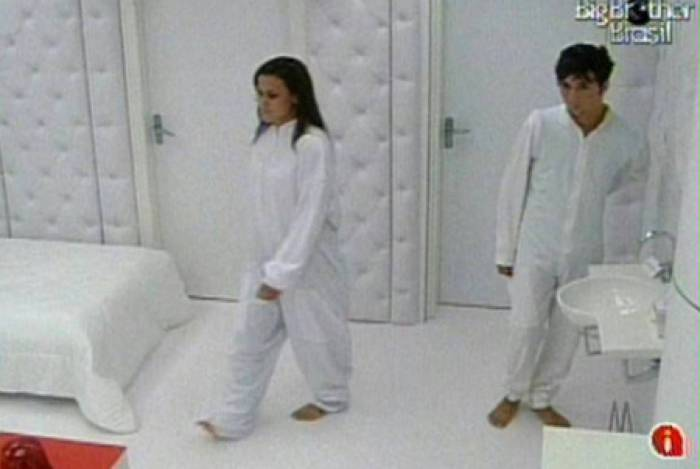 Serginho Orgastic no 'Quarto Branco' do 'BBB 10'