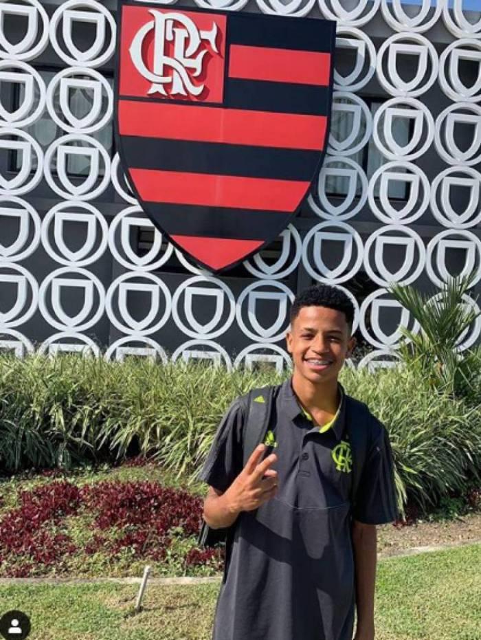 Wendel nos tempos de Flamengo