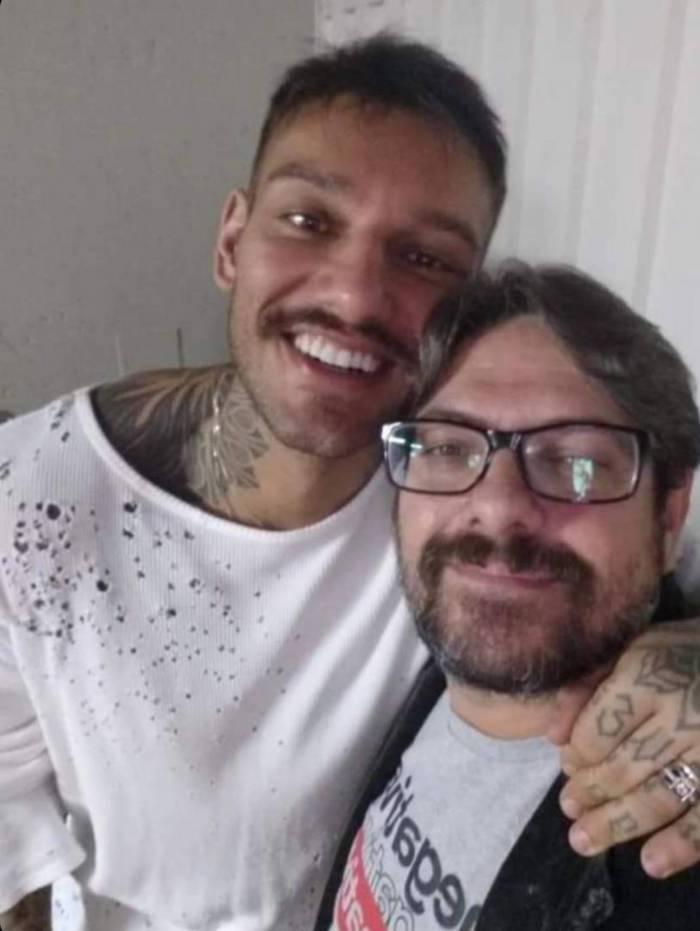 Lucas Lucco e o tio Caio Corrêa