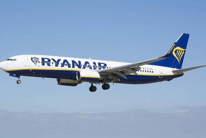Avião era da Ryanair