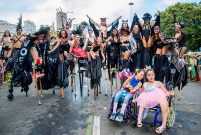 Inclusão social e meio ambiente são do carnaval Consciente, da Liga dos Amigos do Zé Pereira