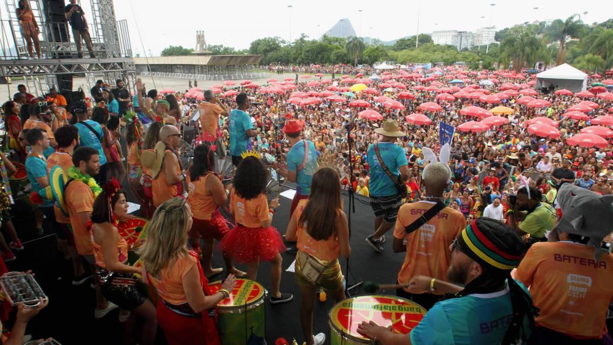 Bangalafumenga, no Aterro do Flamengo