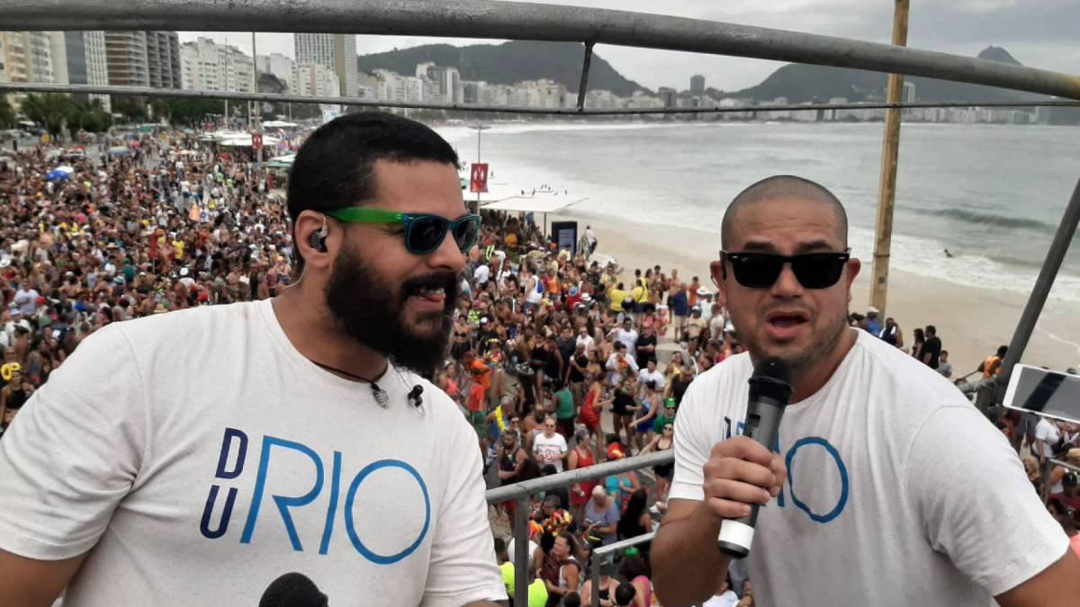 Bloco Du Rio, Copacabana