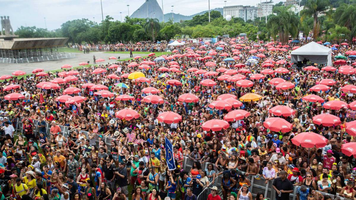 Bloco Bangalaflumenga, no Flamengo
