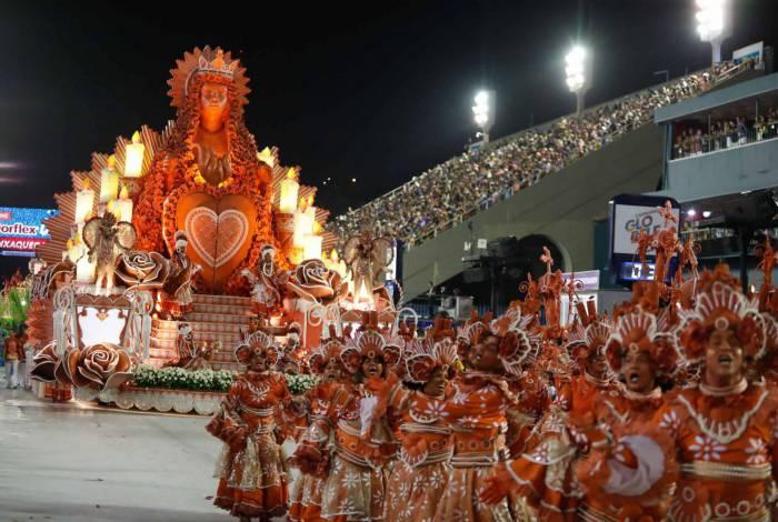 Carnaval 2020 - Desfile da Escola de Samba do Grupo Especial, G.R.E.S Unidos da Viradouro, no Sambódromo da Marquês de Sapucaí, no centro da cidade do Rio de Janeiro nesta segunda (24). Foto: Gilvan de Souza/Agência O Dia