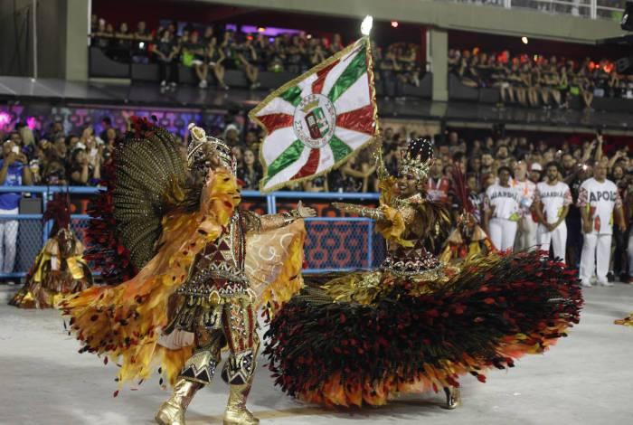 Grande Rio, escola de Duque de Caxias, conquistou o segundo lugar no Carnaval de 2020