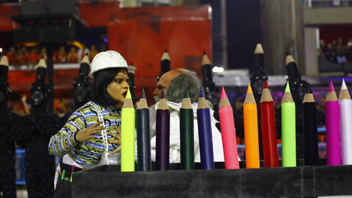 Tijuca foi a quarta escola a desfilar nesta segunda