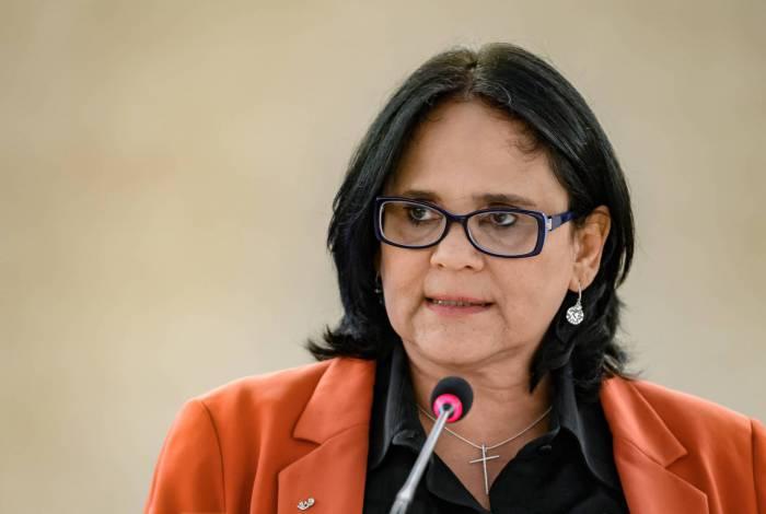 Ministra Damares Alves na ONU