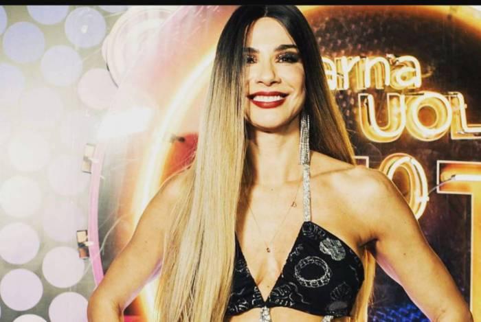 Luciana Gimenez no Camarote N1
