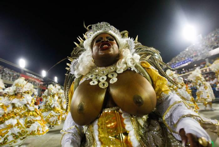 Rio de Janeiro, 25/02/2020  - Desfile da Beija Flor.Na foto acima Jojo Todynho  Foto: Luciano Belford/Agencia O Dia