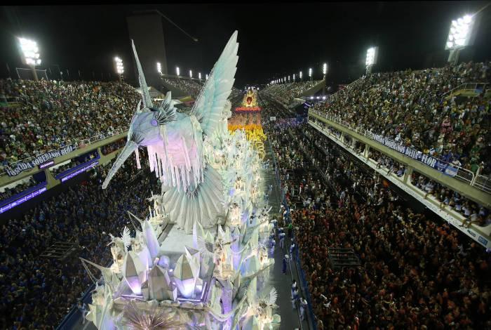 Beija-Flor de Nilópolis na Marquês de Sapucaí no Carnaval de 2020