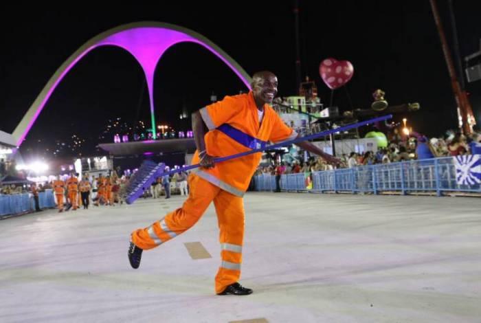 Comlurb recolheu até terça-feira de Carnaval 554,1 toneladas  de lixo