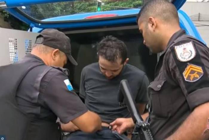Homem foi preso ao tentar roubar padaria no Jardim Botânico