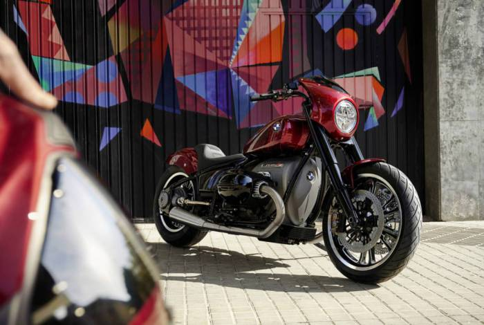 BMW registra patente de moto custom no Inpi