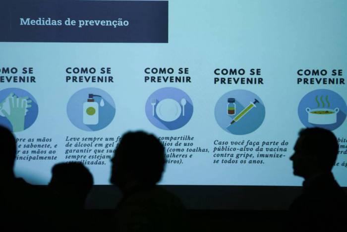 Primeiro caso de coronavírus no país foi confirmado na terça-feira