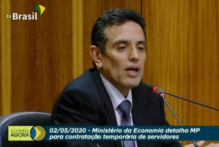 Leonardo Rolim, presidente do INSS