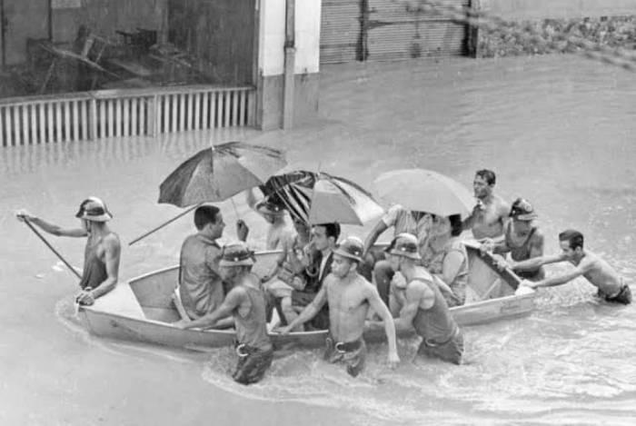 Enchente de 1966: 250 mortos, mais de mil feridos