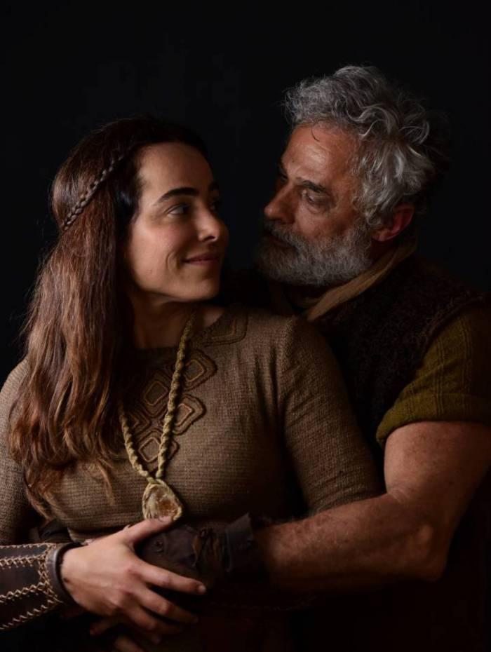 Cássia Linhares e Oscar Magrini