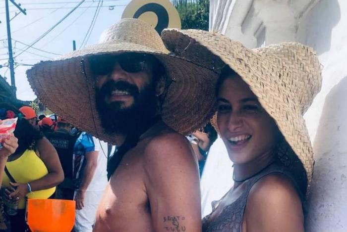 Caio Blat e Luisa Arraes