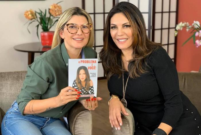 Antônia Fontenelle e Marcia Goldschmidt no 'Na Lata'