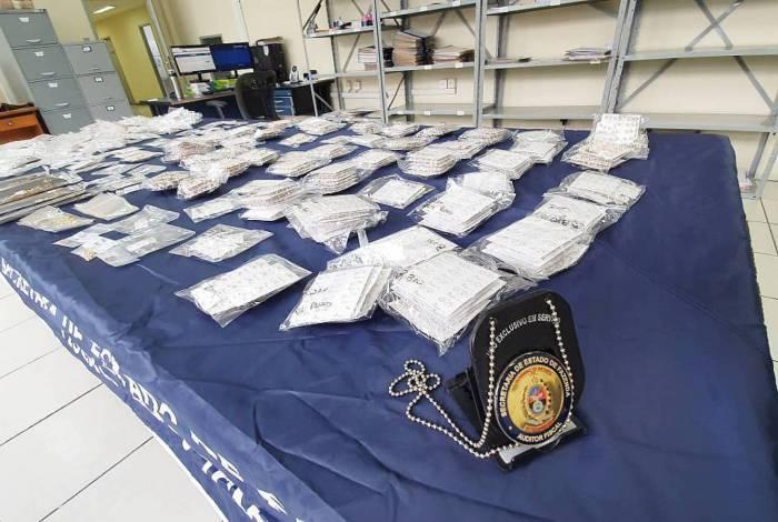 Carga de mais de 3.600 peças de ouro estava sem a documentação fiscal