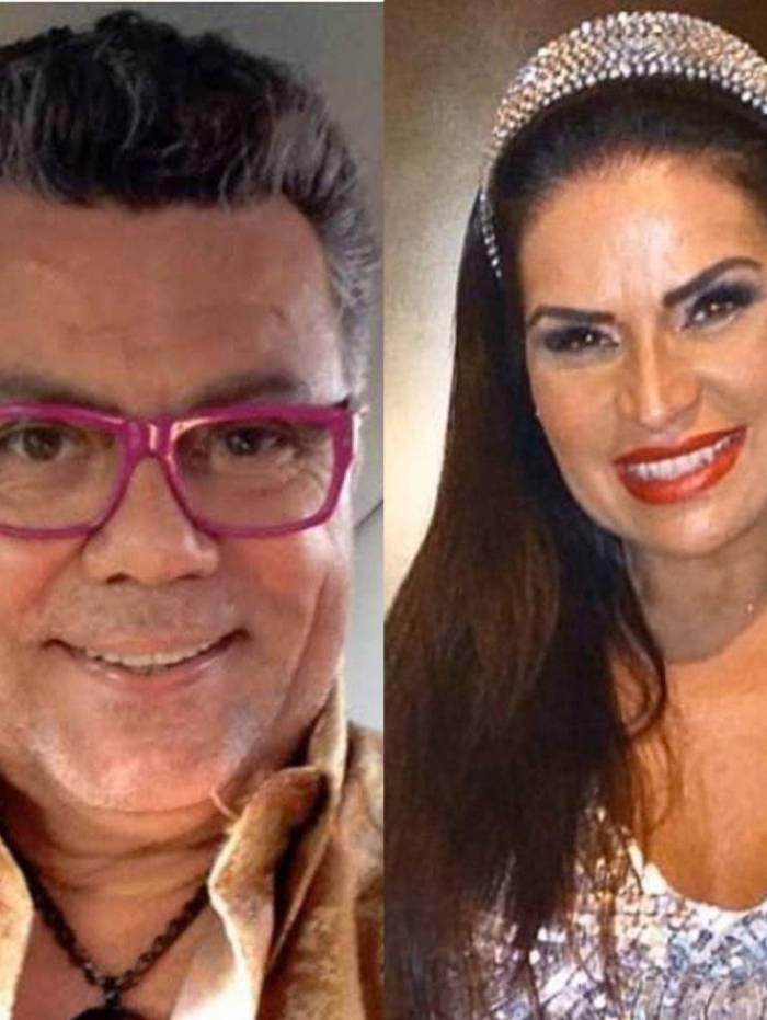 Torta de climão entre Solange Gomes e Milton Cunha em feijoada