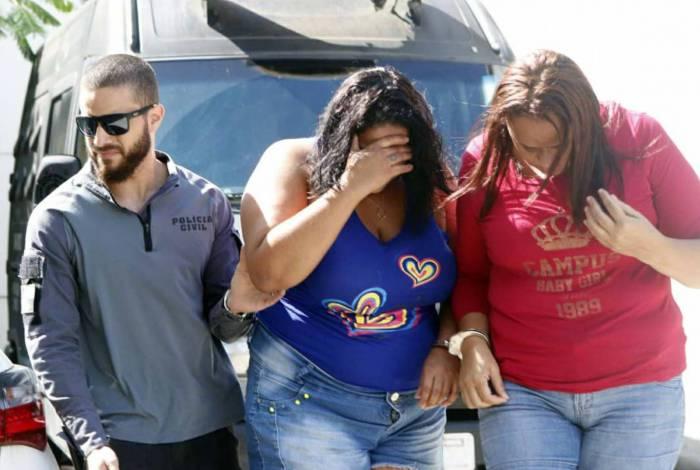 Presos foram levados para a Cidade da Polícia