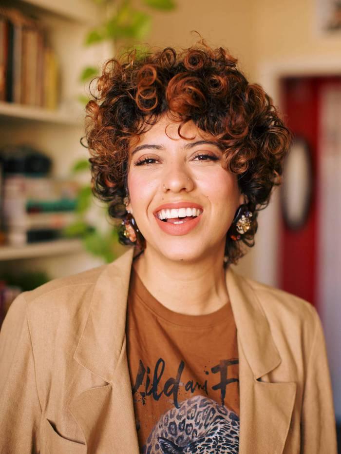 Carla Lemos: em roda de conversa no Grande Rio