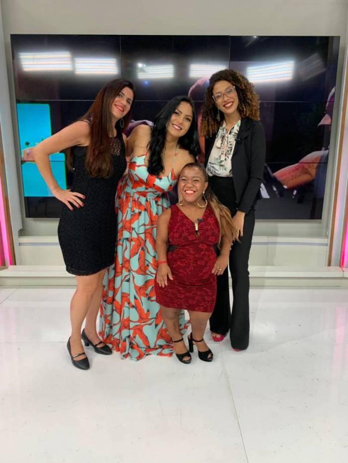 Delegada Fernanda Fernandes, Gardênia Cavalcanti, Vivi Assis e Taiane Ferreira