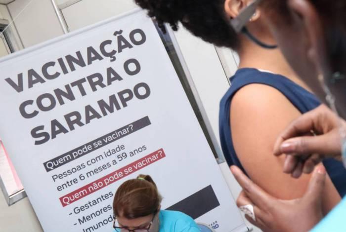 'Dia D' contra o sarampo ocorre hoje em todo o estado: meta é imunizar 3 milhões de pessoas