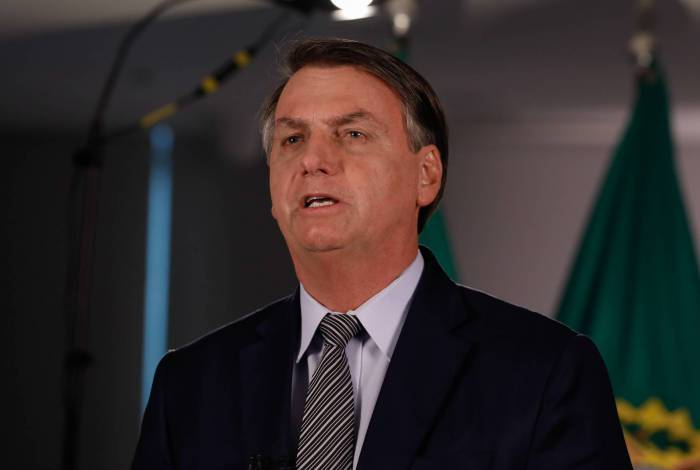 (Brasília - DF, 06/03/2020) Pronunciamento do Presidente da República, Jair Bolsonaro..Foto: Carolina Antunes/PR