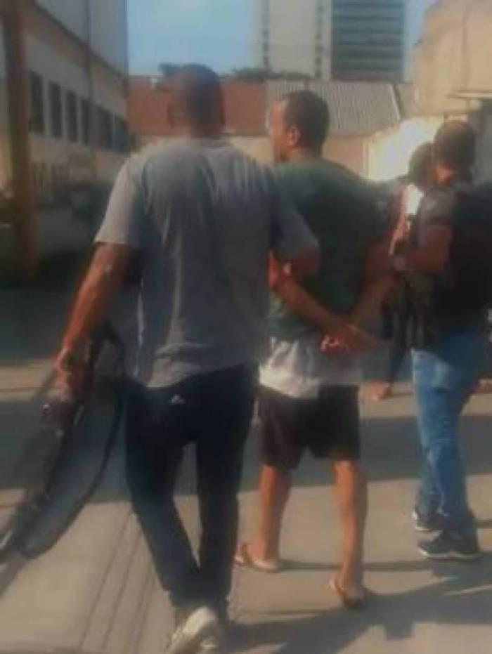 Homem é preso em flagrante por agressão em ex-companheira