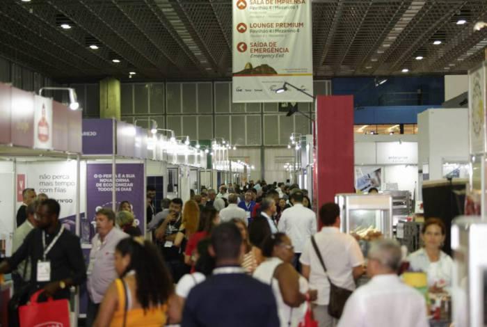 A 32ª edição da Super Rio Expofood vai ocupar um espaço de 40 mil m², no Riocentro