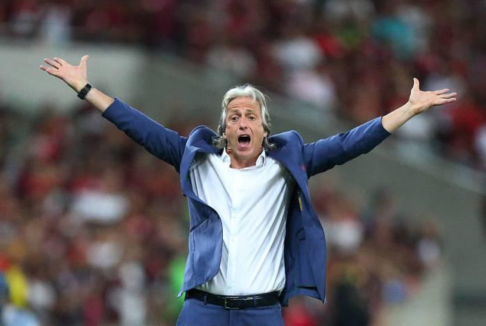 Jorge Jesus é a favor da paralisação do Campeonato Carioca em razão do avanço do coronavírus