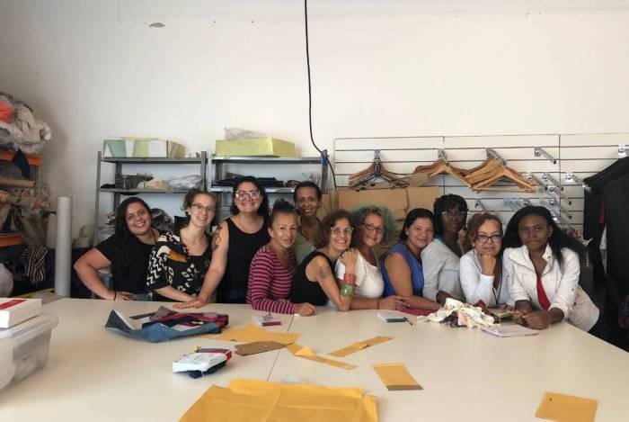 Parte da equipe do Mulheres do Sul Global