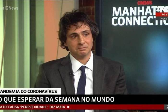 Guga Chacra se emociona ao comentar pandemia de coronavírus: 'Vontade de chorar'