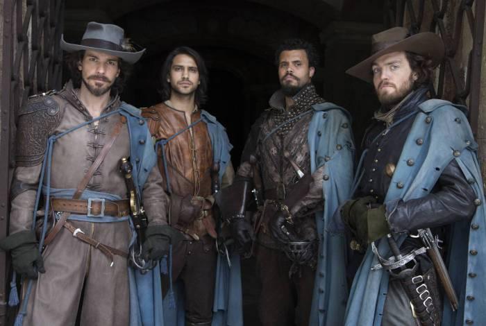 Série britânica 'The Musketers' entra na grade de programação da TV Brasil a partir desta semana