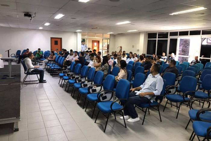 Critérios de trabalho e de turismo foram debatidas na reunião que aconteceu no auditório da Funemac