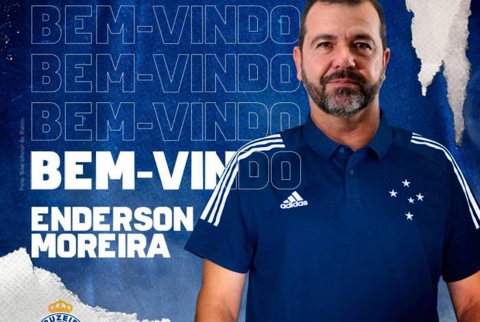 Cruzeiro oficializa a contratação do técnico Enderson Moreira