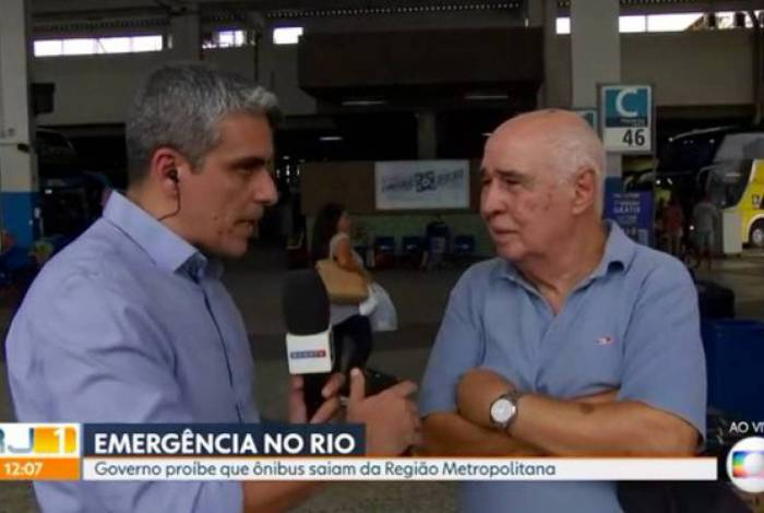 André Gallindo foi deslocado para a cobertura da pandemia do coronavírus