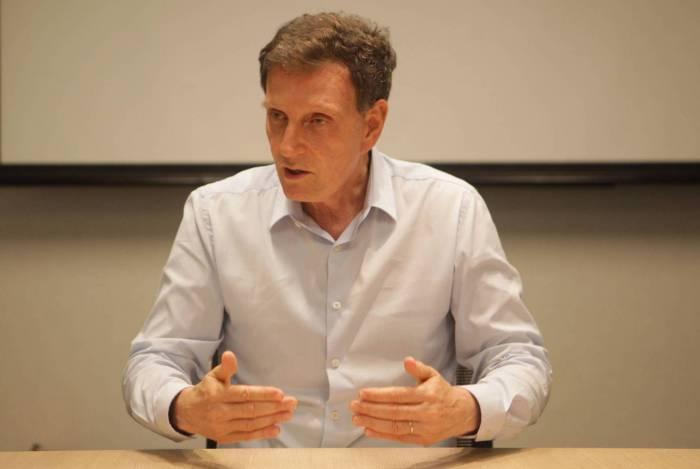 Entrevista com o prefeito do Rio, Marcelo Crivella