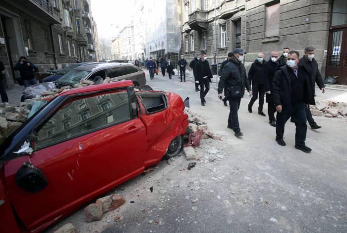 Terremoto atingiu Croácia e autoridades pedem que população vá para as ruas, mas evitem grupos por conta do coronavírus