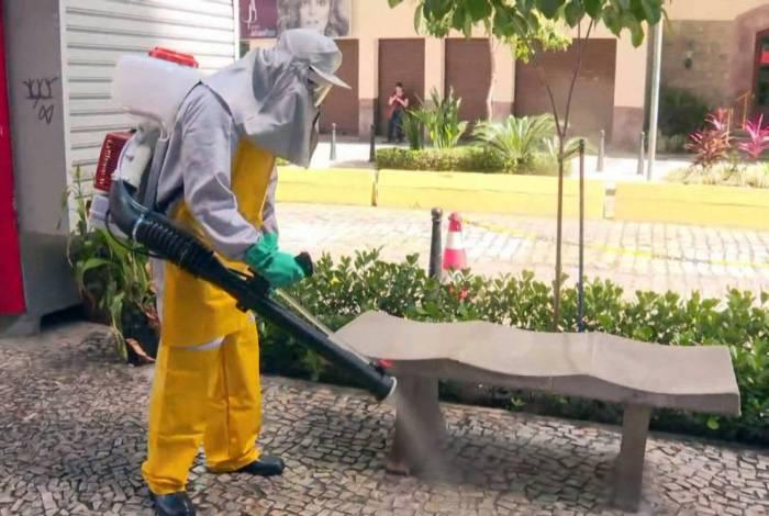 Niterói adota medidas da China para acelerar a eliminação do coronavírus em ambientes públicos